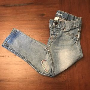 Cat & Jack girls skinny jeans  size 4T